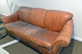 Aged Leather Sofa Aniline Sauvage Aniline Leather Sofa By Puppy U2026on