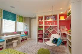hamptons inspired luxury home girls room robeson design san