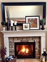 Fireplace Mantels Decorated fireplace mantel