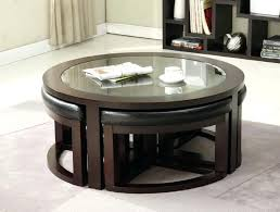 modern designer coffee tables coffee table chic coffee table with ottomans underneath designs