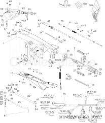 tiller kit 115 hp e tec 2005 2010 rigging parts accessories