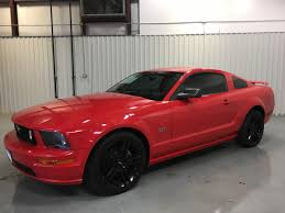 Mustang Black Rims 2006 Ford Mustang Wow Gt V8 Tint Auto Black Rims Www