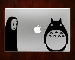 spirited away and neighbor totoro studio ghibli decal stickers for spirited away and neighbor totoro studio ghibli decal sticker for macbook pro air