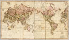Mercator World Map by Chart Of The World Upon Mercator U0027s Projection David Rumsey