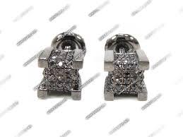 mens black diamond earrings men black diamond earrings hd black diamond cube earrings for