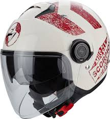 scorpion motocross helmets scorpion exo city heritage jet helmet motorcycle helmets