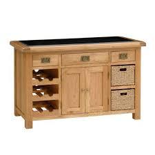 neo small kitchen island unit granite worktop solid oak wood