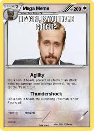 Mega Meme - pokémon mega meme 1 1 agility my pokemon card