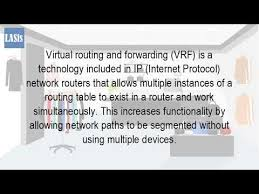 what is routing table what is a vrf in networking youtube