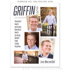 senior yearbook ad templates ashe design senior yearbook ad photoshop templates the