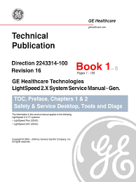 lightspeed 2 x system service manual switch x ray