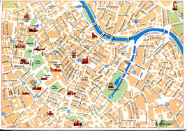 map of vienna map of vienna austria remembering letters and postcards