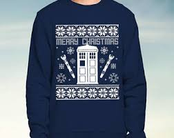 dr who jumper etsy