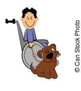 fauteuil de malade clipart vecteur de garçon fauteuil roulant malade illustration