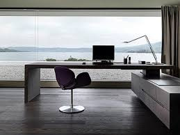 modern computer desk home office with l shape white modern
