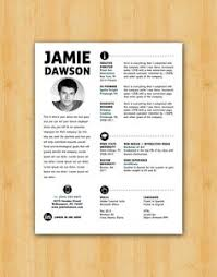 photo resume format resume template instant word document download modern resume