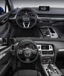 Audi Q7 Specs - 2016 audi q7 vs 2012 audi q7 dashboard indian autos blog