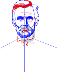 how to draw abraham lincoln step by step drawing guide by