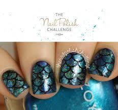 mermaid nail art inspiration zoya blog