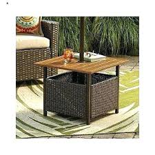 Patio Side Table Patio Side Table With Umbrella Hole U2013 Tratamientos Co