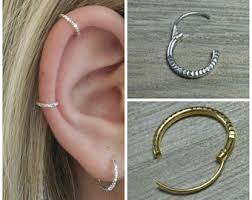 cartilage hoop earring cartilage hoop etsy