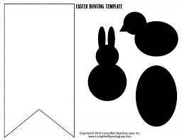 no sew burlap u0026 bunny bunting living well spending less