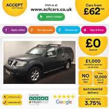 used nissan navara cars for sale motors co uk