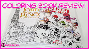 coloring book review lord of the rings and color your own young