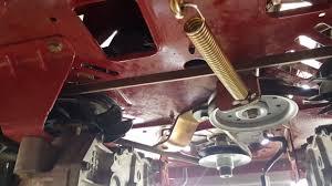 craftsman z6000 zero turn drive belt replacement youtube
