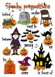 19 free esl spooky worksheets