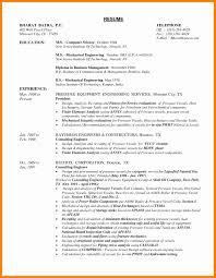 Be Mechanical Engineering Resume 100 Customer Service Engineer Resume Mechanical Engineering
