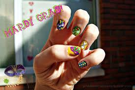 mardi gras nail mardi gras nail timesweetenedhoney