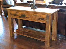 bedroom alluring rustic sofa table plans home interior design