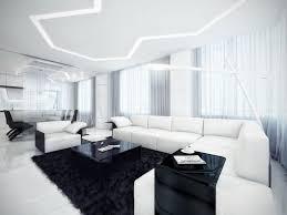 Led Deckenbeleuchtung Wohnzimmer Schwarz Weiß Wohnzimmer Innenarchitektur Ideen