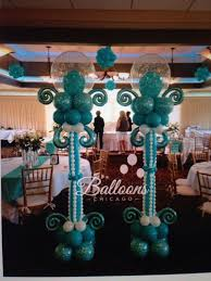 balloon arrangements chicago 138 best balloon centerpieces images on balloon