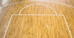 Wooden Floor by Wooden Floor Basketball Court Indoor Stock Photo Picture And