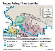 Cape Horn Map Washougal Redraws Its Boundaries The Columbian