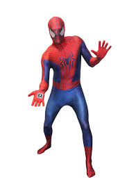 halloween costume spiderman mens amazing spiderman 2 morphsuit halloween fancy dress costume