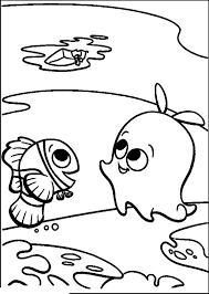 finding nemo pearl marlin finding nemo coloring pages