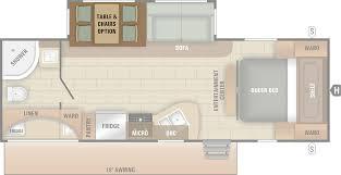 pontoon floor plans launch ultra lite starcraft rv travel trailer camper floorplan