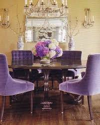 Purple Dining Room Chairs See How Radiant Orchid Pantone S 2014 Color Of The Year Emanates