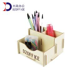 aliexpress com buy diy wood pen holder pens stand pencil holders