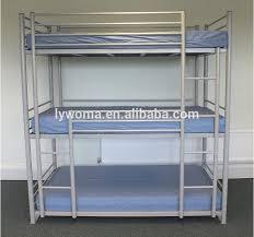 Three Sleeper Bunk Bed Three Level Three Sleeper Army Triple Steel Pipe Bunk Bed Buy
