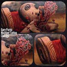 custom realistic voodoo doll by gary parisi chicago tattoo com