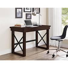 altra furniture wildwood mahogany desk 9835196com home depot
