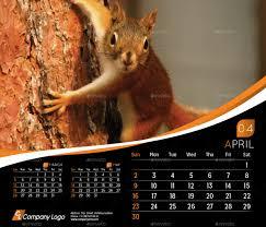 2018 desk calendar template by la croix graphicriver