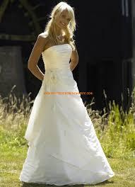 robe de mari e simple pas cher robe de mariée pas cher à bustier sans traîne
