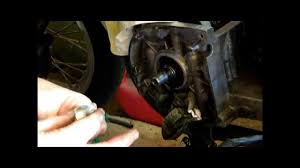 crank seal replacement wmv youtube