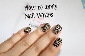 how to apply nail wraps youtube