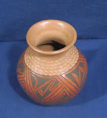 Mexican Pottery Vases Vintage Mata Ortiz Casas Grande Mexican Art Pottery Vase By Tomasa